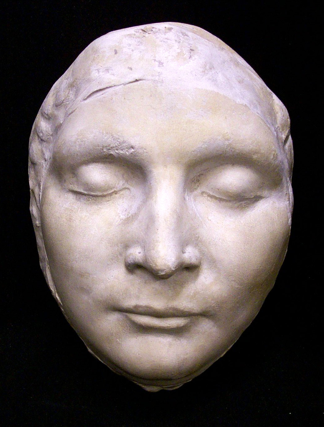 Mary Queen Of Scots Death Mask death mask  from the original