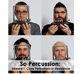 So Percusion: Edward T. Cone Performers-in-Residence