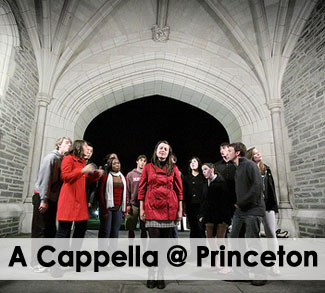 A cappella at Princeton University