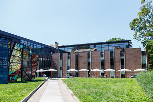 The Marquand Art Library is located in McCormick Hall