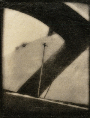 Tsusaka Jun (1900-1963), Bridge in Hakuyō, Volume 5, No. 6 (1926) Tsusaka Jun was one of the Japan Photographic Art Association'