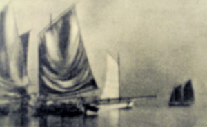 Takada Minayoshi (1899-1982), Departing Boats Though his work was rooted in the Pictorialist-style seen in this 1923 photograph,