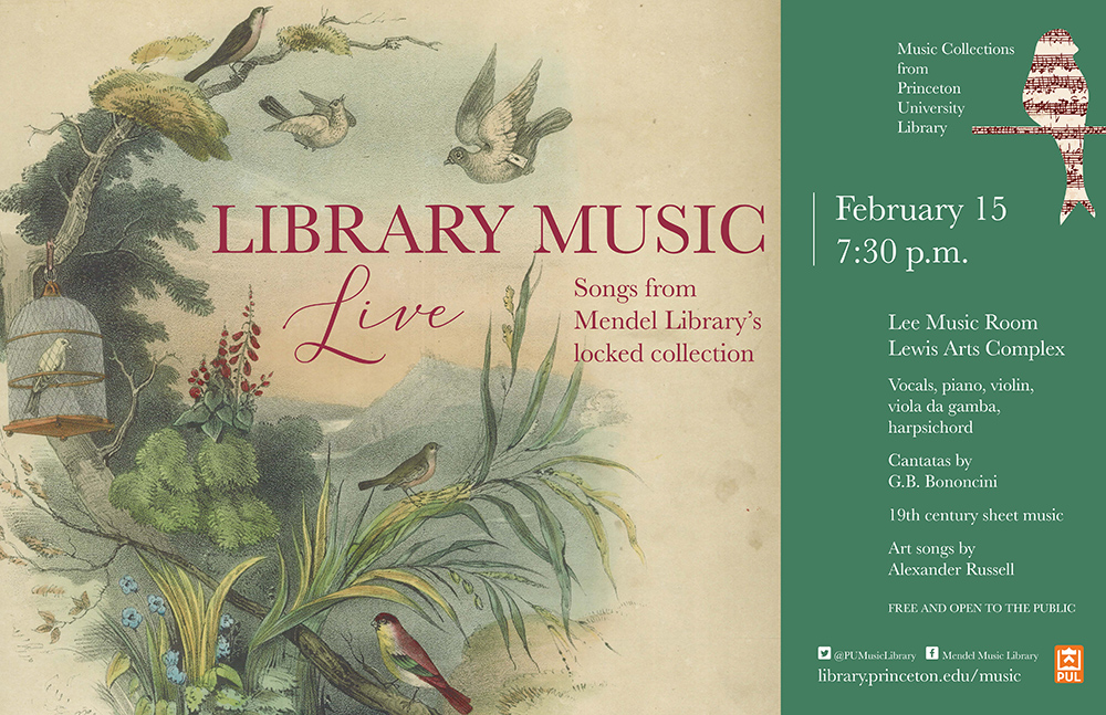 Library Music Live, poster