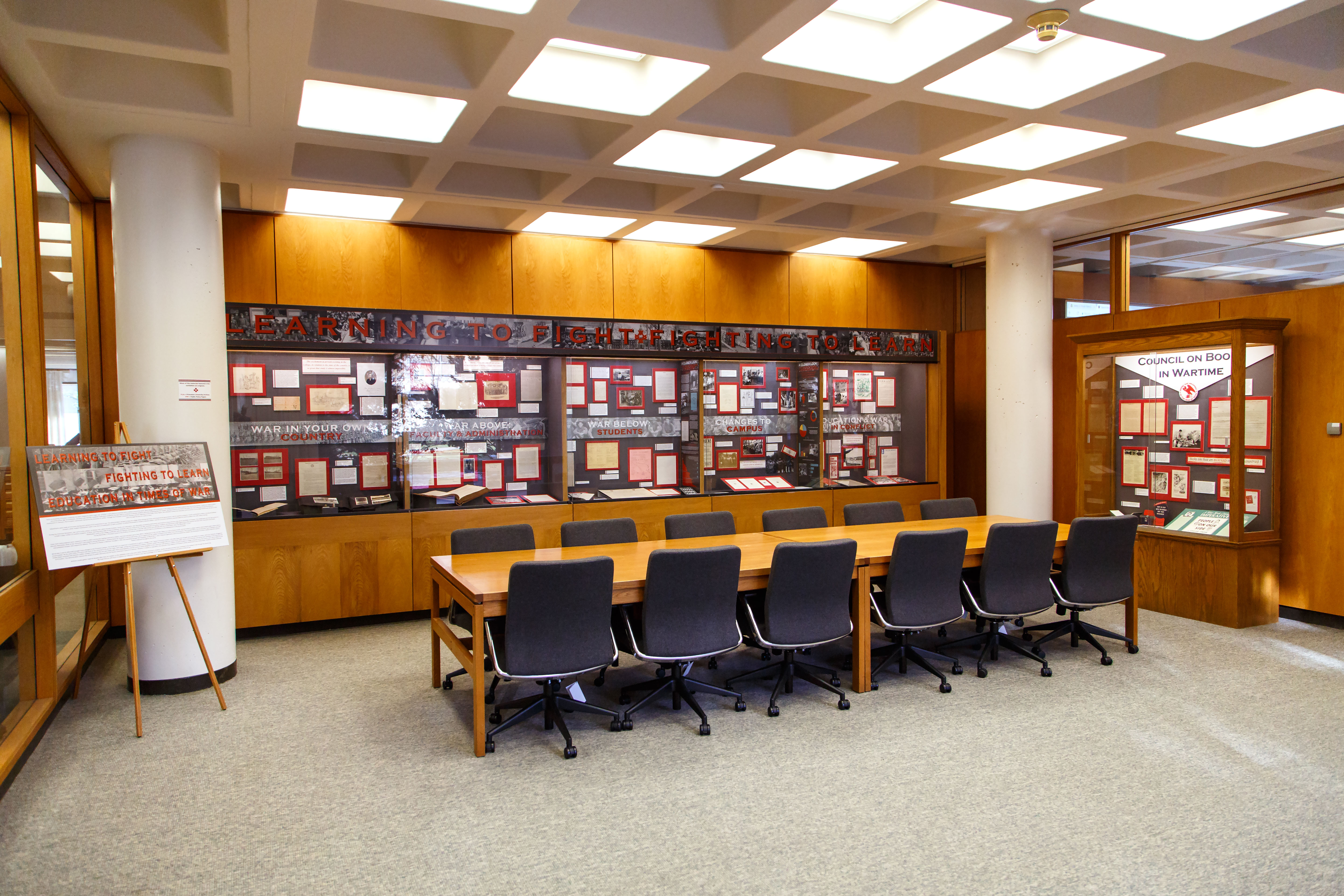 Mudd Library Exhibition