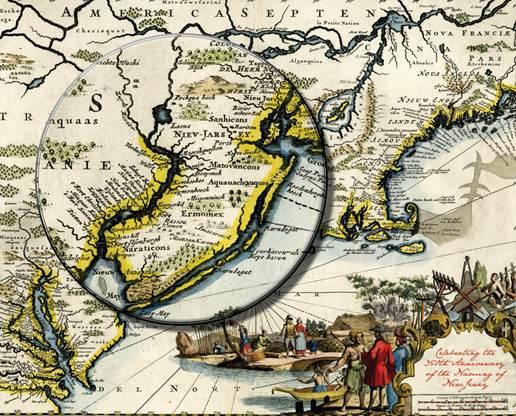 Nova Caesarea A Cartographic Record Of The Garden State 1666 1888 Princeton University Library