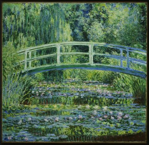 Monet's Water Lilies and Japanese Bridge