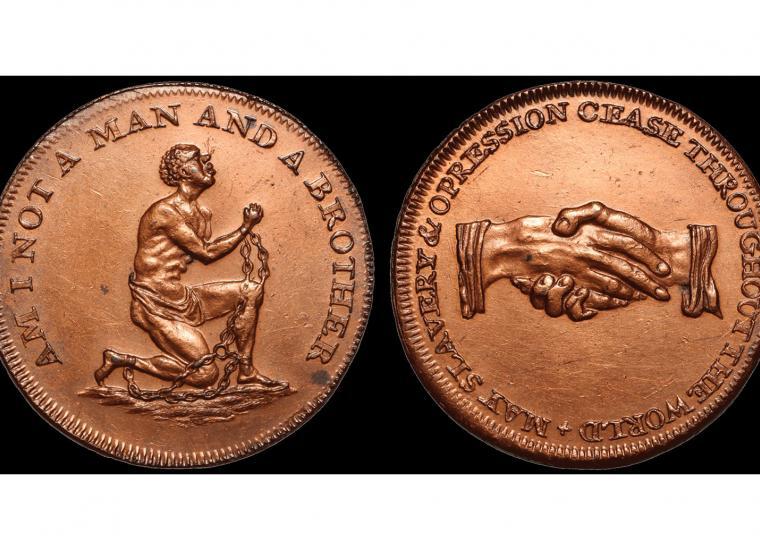 British Abolitionist Token c. 1797