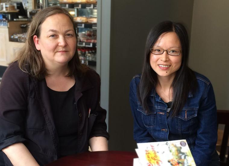 Co-authors Helen Wang and Minjie Chen