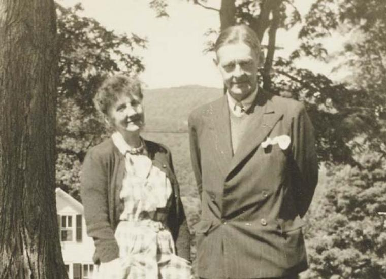 T.S. Eliot and Emily Hale