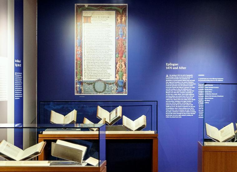 Gutenberg & After exhibition