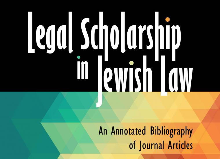 Legal Scholarship book cover