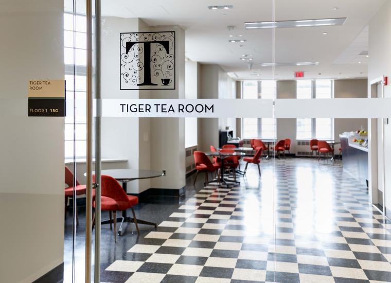 Tiger Tea Room, Firestone Library, first floor