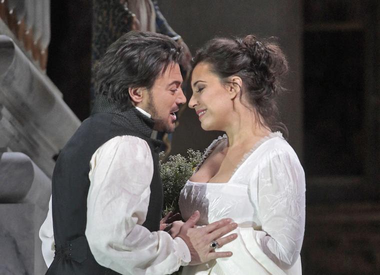 Met's production of Tosca, still