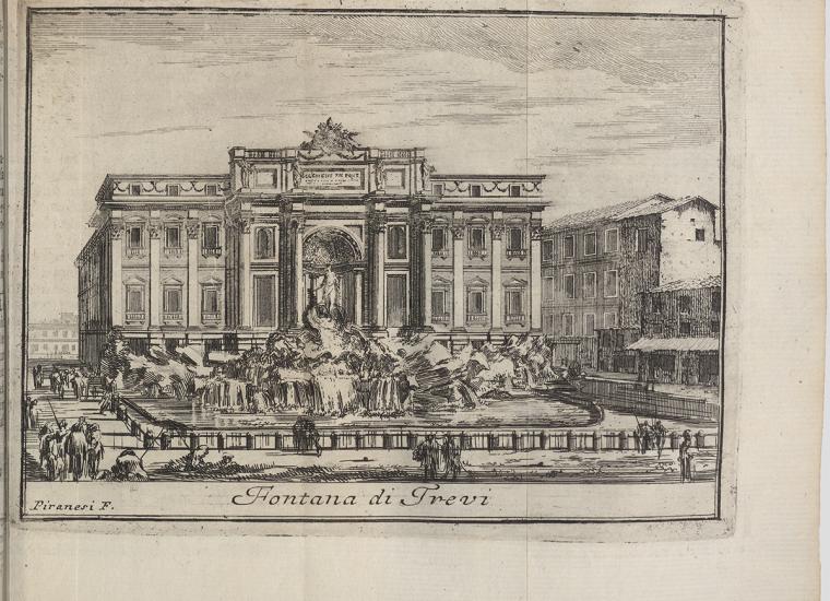 Giovanni Battista Piranesi (1720–1778), Fontana di Trevi