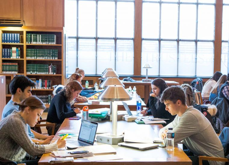 Firestone Library's Trustee Reading Room