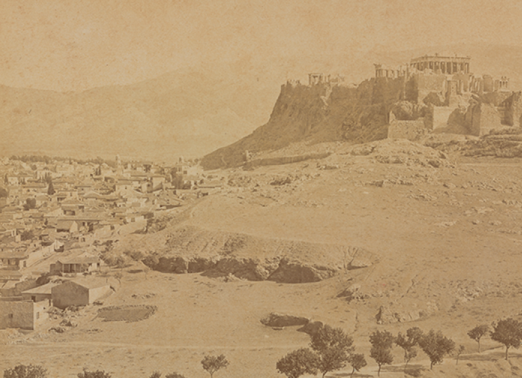 View of Athens, ca. 1880