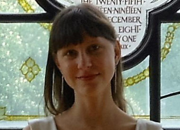 Jessica Terekhov, co-leader of the Student Friends of Princeton University Library