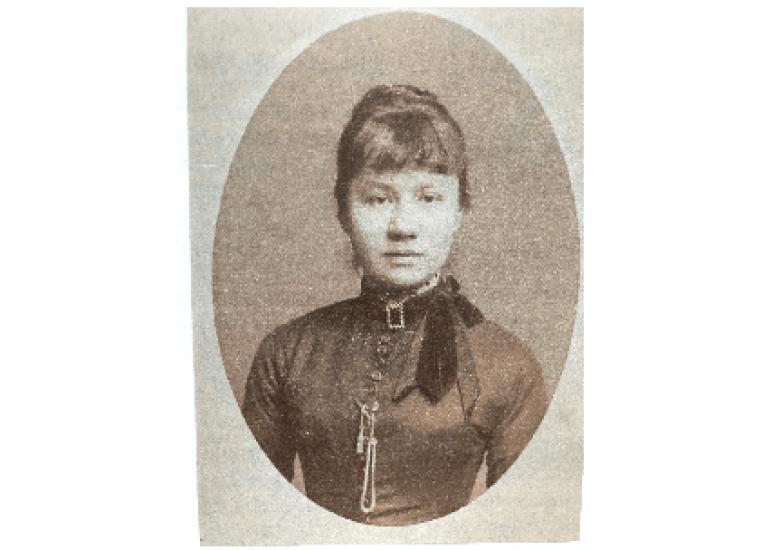 Photograph of Johanna van Gogh-Bonger, ca. 1884. F.W. Deutmann, Zwolle, Van Gogh Museum, Amsterdam (Vincent van Gogh Foundation)