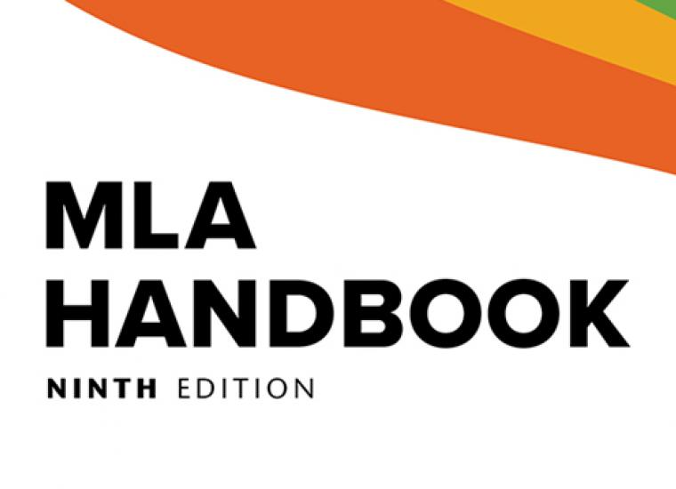 The cover of the MLA Handbook, 9th Edition