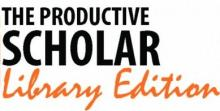The Productive Scholar: Library Lecture Series