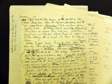 Toni Morrison Beloved Draft Pages