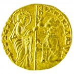 Andrea Dandolo ducat obverse