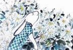 Cotsen bunny art