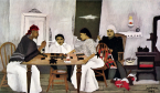 Horace Pippin, Domino Players (1943)