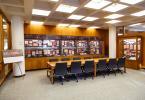 Mudd Library exhibition