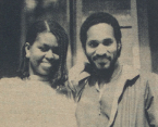 Michelle Robinson and Joey Harris class of 1985