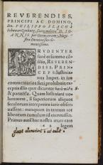 Page from a rare book