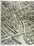 Plan de Paris: commencé de l'année 1734 (detail)
