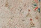 Portolan chart of the Mediterranean Sea, 1640
