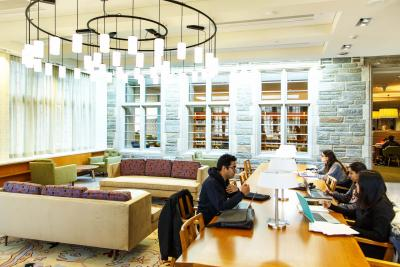 Scribner Reading Room