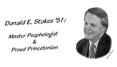 Donald E. Stokes '51: Master Psephologist & Proud Princetonian