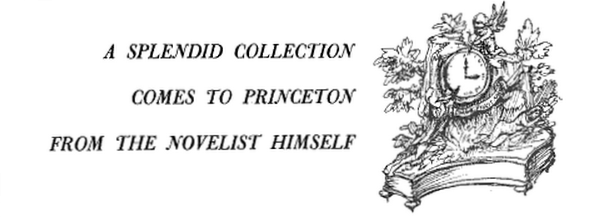 Detail from article in the Princeton Alumni Weekly, May 30, 1958, Volume 58, by Richard M Ludwig