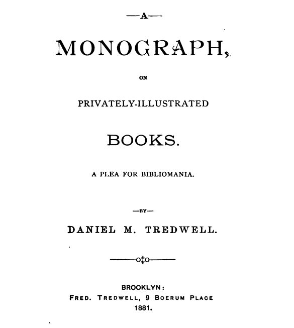 Early theoretical publication on extra-illustrating or graingerising
