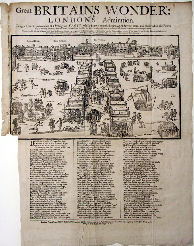 Great Britains Wonder: or, Londons Admiration. 1684. Robert H. Taylor Collection