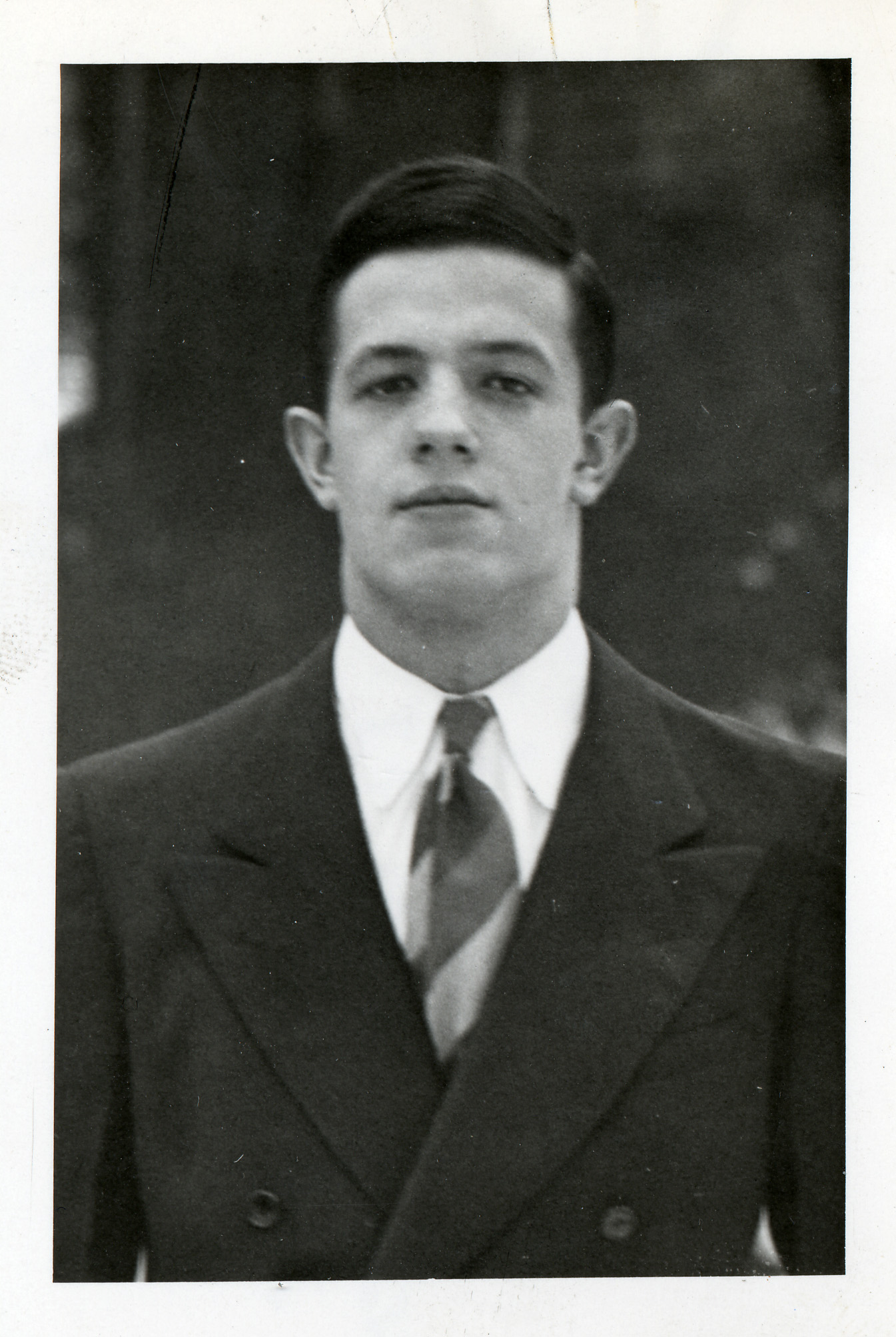 John Nash Undergraduate Photo, Princeton University Library