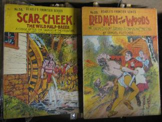 Beadle's Frontier Series, numbers 58 and 59  (ca. 1908-1909) in the Robinson Collection