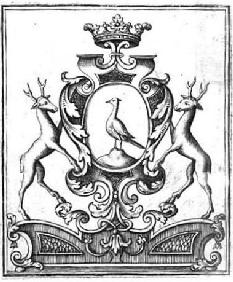 Bookplate of the Goertz family,  17th-18th cent.
