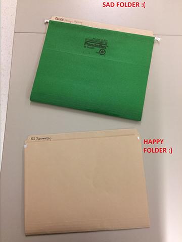 No Hanging Folders