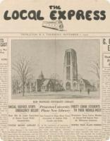 Local Express --  newspaper in Princeton -- digital rendering in PUDL