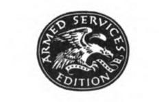 Logo from checklist - Editions for the Armed Services, Inc. : a history -- URL is http://hdl.handle.net/2027/uc1.b4162609