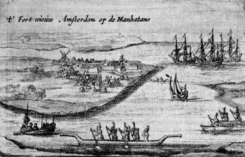 Aldriaen van der Donck. Beschryvinge van Niew-Nederlant. Amsterdam: Evert Nieuwenhof, 1655. Rare Books, The Grenville Kane Collection.