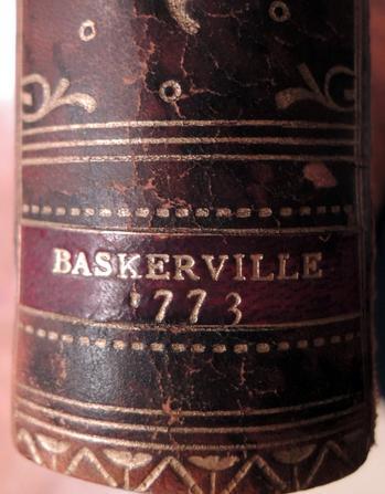 Lodovico Ariosto (1474-1533), Orlando Furioso (Birmingham, Datorchi di G. Baskerville, per P. Molini e G. Molini, 1773). GAX Baskerville 1773b