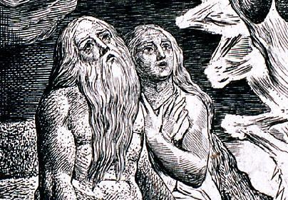Detail, 'Thou Hast Fulfilled the Judgement of the Wicked' plate 16 in Illustrations of the Book of Job (1825) GA 2007.02171