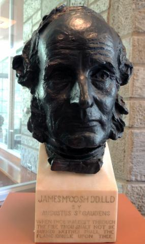 Bust of James McCosh by St. Gaudens