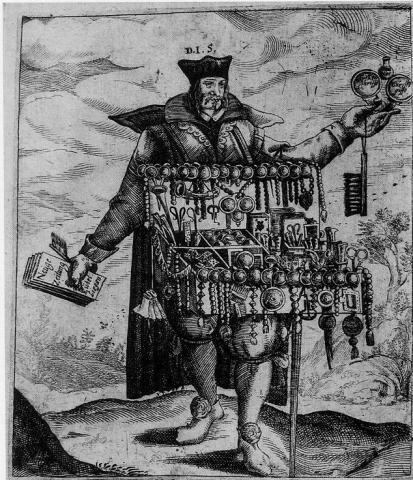 Frontispiece to: [Masen, Jakob] Wolverdientes Capitel welches neulich die beyden  weitbeschrienen Jesuiten. 1644. [(Ex) AP1 .F64q, item 303]