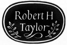 ROBERT H. TAYLOR COLLECTION